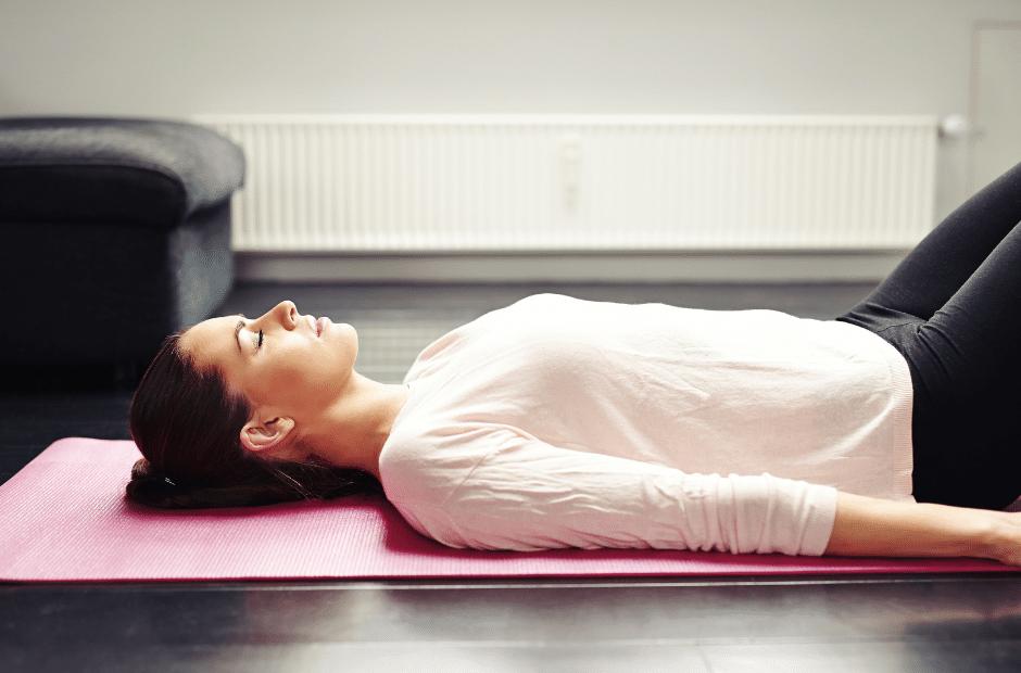Progressive Muskelentspannung, eine bequeme Position finden