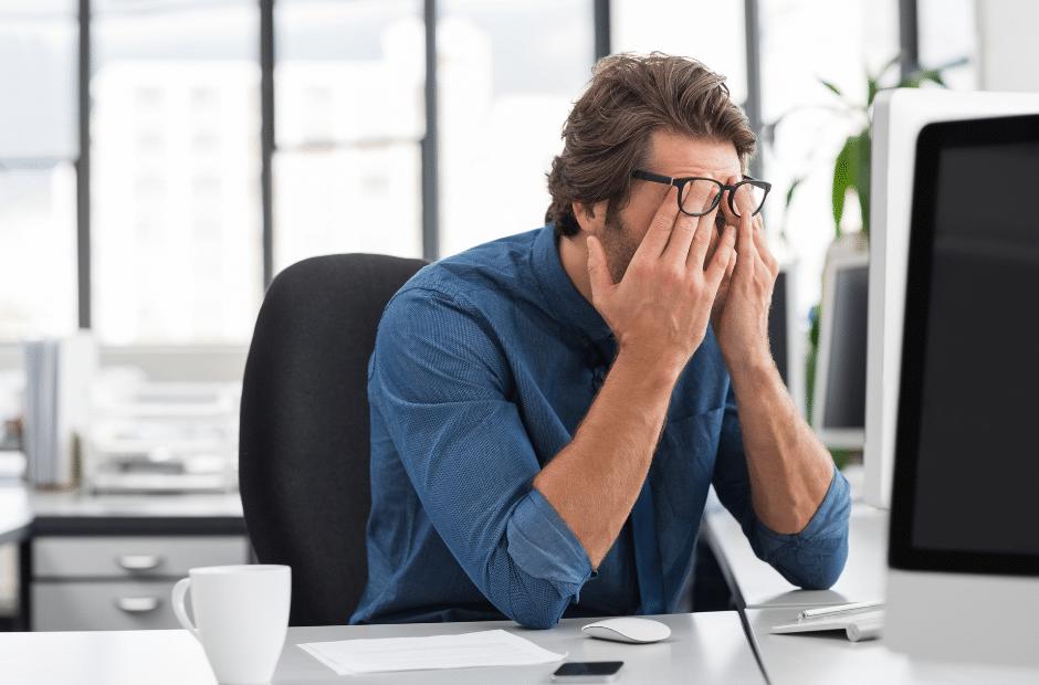 Stress abbauen Arbeit