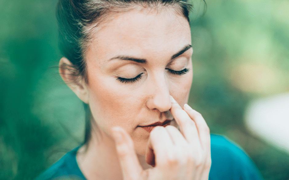 Atemübungen zum entspannen Nasenatmung